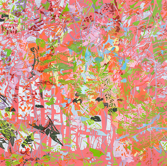 15. Juli 2007, Öl auf Leinwand, 220 × 222 cm, 2007