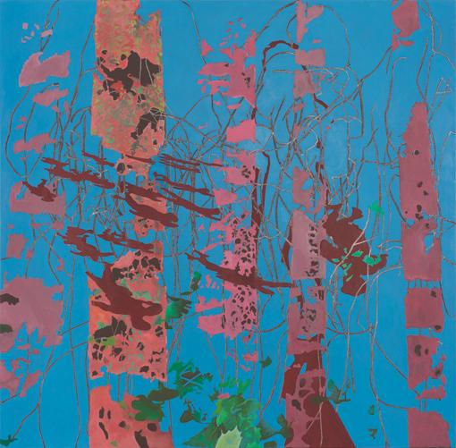 16.10.2012, Öl auf Leinwand, 220 × 222 cm, 2012