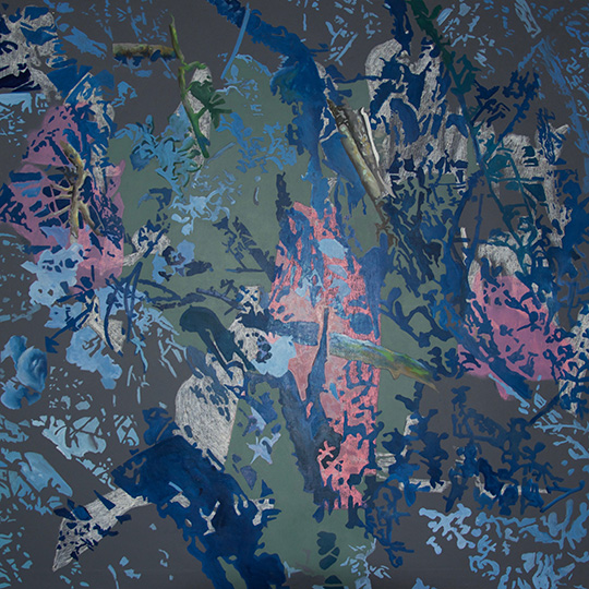 16.10.2015, Öl auf Leinwand, 160 × 160 cm, 2015