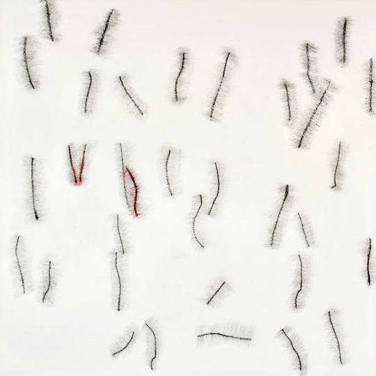 18.10.2020, Öl auf Leinwand, 180 × 180 cm, 2020