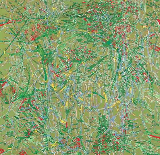 19. April 1997, Öl auf Leinwand, 163 × 168 cm, 1997
