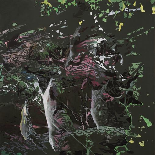 26.10.2013, Öl auf Leinwand, 160 × 160 cm, 2013