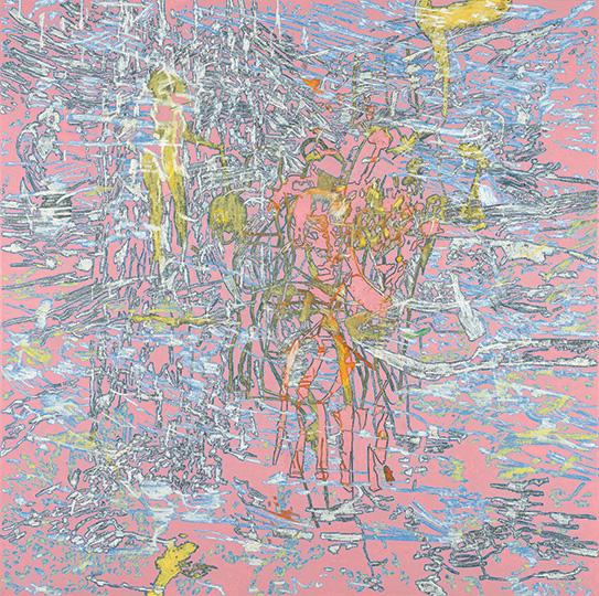 1. Juni 2000, Öl auf Leinwand, 214 × 215 cm, 2000