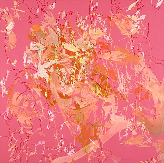 2004, Öl auf Leinwand, 220 x 222 cm, 2004
