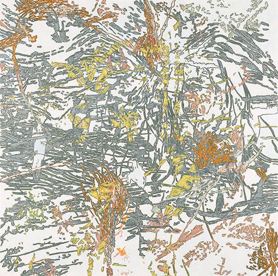 21. Dez. 2000, Öl auf Leinwand, 214 × 215 cm, 2000