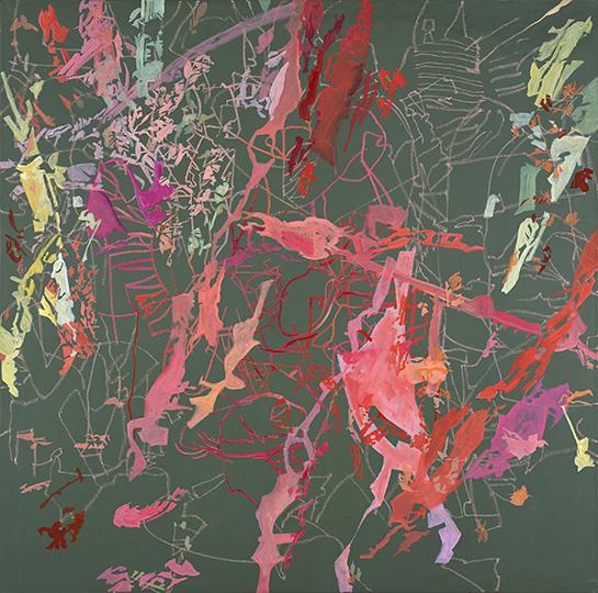 24.12.2004, Öl auf Leinwand, 220 × 222 cm, 2004