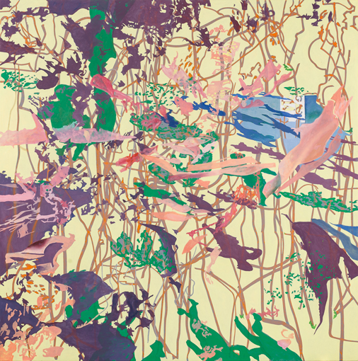 2013, Öl auf Leinwand, 220 × 222 cm, 2013
