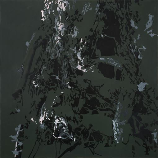 27.9.2013, Öl auf Leinwand, 160 × 160 cm, 2013