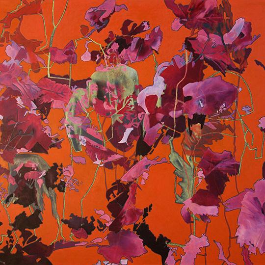 29.8.2015, Öl auf Leinwand, 160 × 160 cm, 2015, Privatbesitz