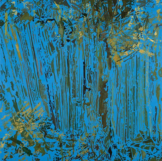 30.5.2004, Öl auf Leinwand, 220 x 222 cm, 2004