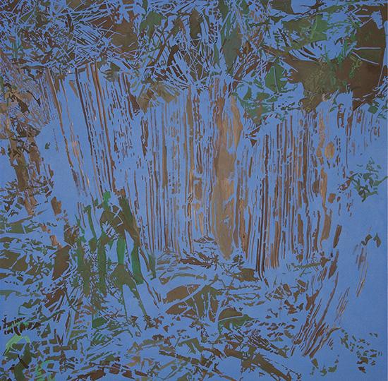 3. März 2004, Öl auf Leinwand, 218 × 218,5 cm, 2004
