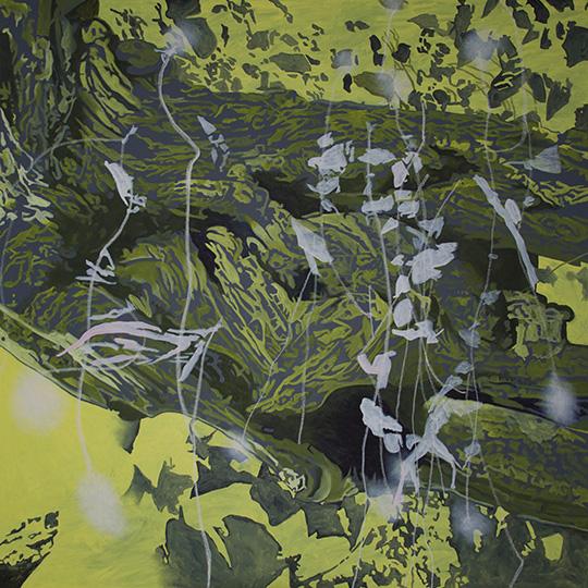 5. April 2015, Öl auf Leinwand, 160 × 160 cm, 2015