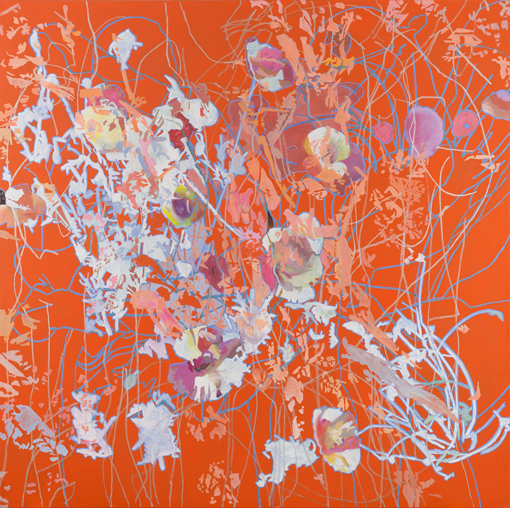 6.7.2012, Öl auf Leinwand, 220 × 222 cm, 2012