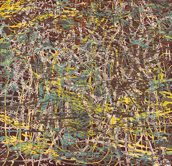 6. Juni 1997, Öl auf Leinwand, 163 × 168 cm, 1997