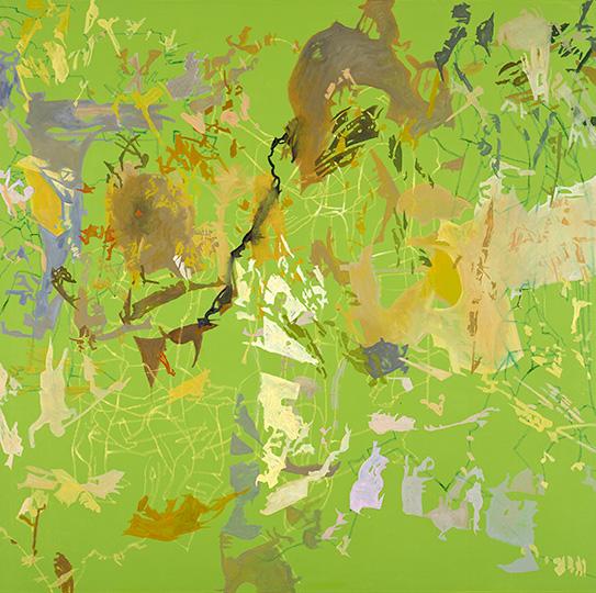 7. Feb. 2005, Öl auf Leinwand, 214 × 215 cm, 2005