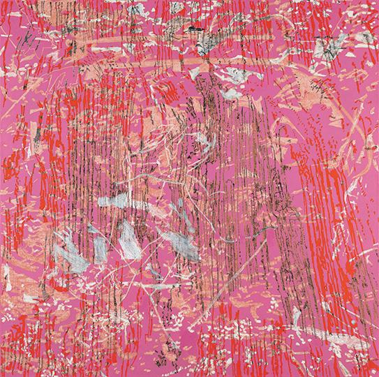 8. Januar 2002, Öl auf Leinwand, 214 x 215 cm, 2002, Courtesy Sammlung der Nord Deutschen Landesbank, Hannover