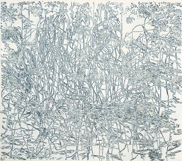 9. Sept. 1995, Öl auf Leinwand, 193 × 218,5 cm, 1995