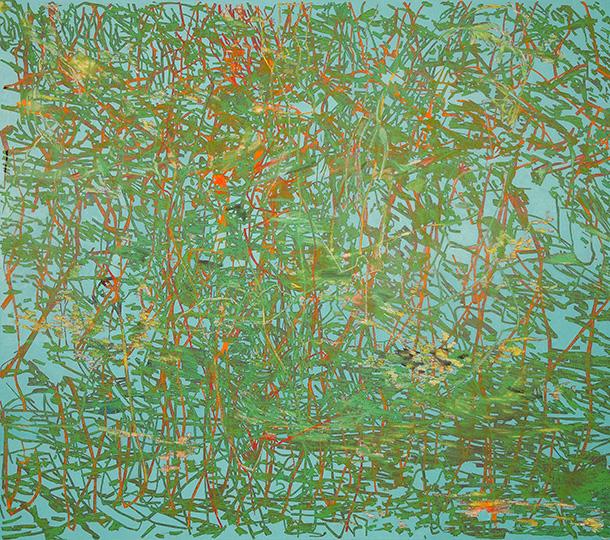 Aug 13, 1994, Öl auf Leinwand, 193 × 218,5 cm, 1994