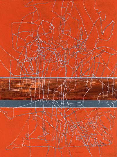 Bildzeit, Öl auf Leinwand, 284 × 214 cm, 1990/91