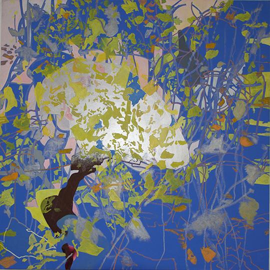 Jan. 2016, Öl auf Leinwand, 160 × 160 cm, 2016