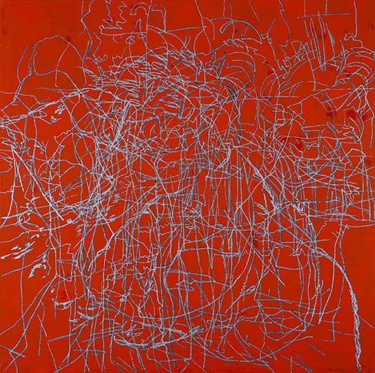 Mai, Öl auf Leinwand, 214 × 215 cm, 1992