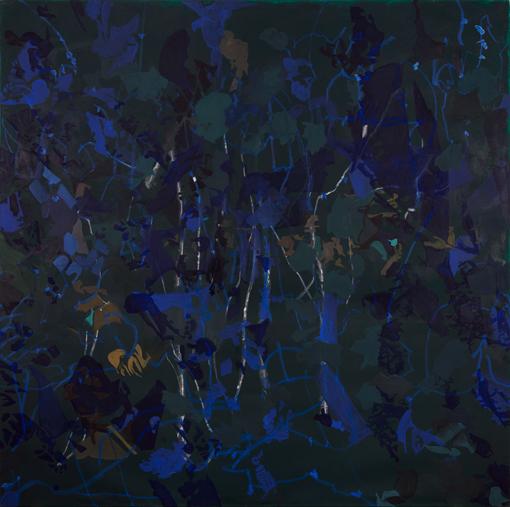 Mai 2012, Öl auf Leinwand, 220 × 222 cm, 2012