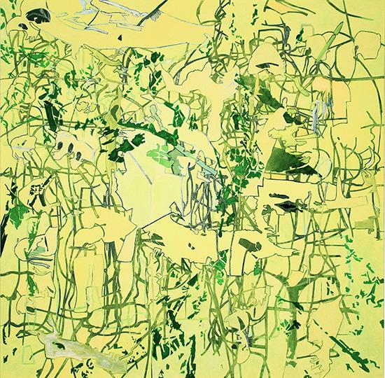 Nov 30, 06, Öl auf Leinwand, 218 × 218,5 cm, 2006