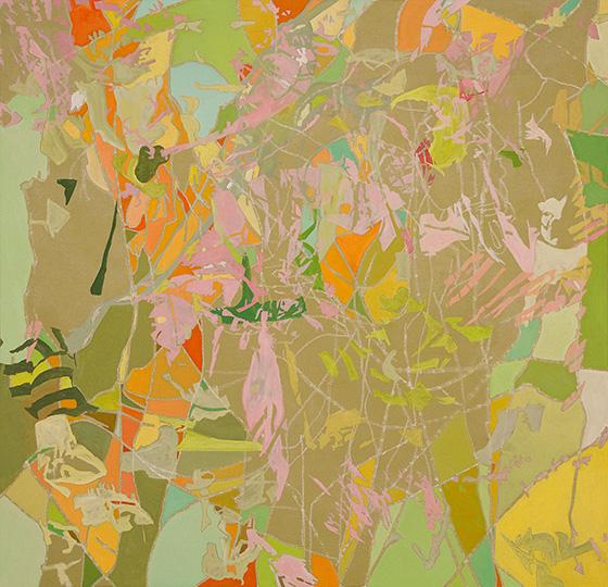 Okt 06, Öl auf Leinwand, 162,5 × 167,5 cm, 2006