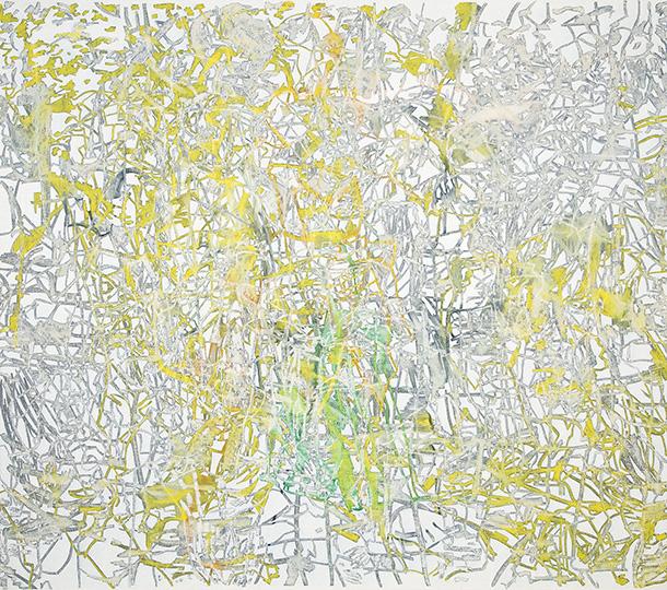 Okt 3, 1994, Öl auf Leinwand, 193 × 218,5 cm, 1994