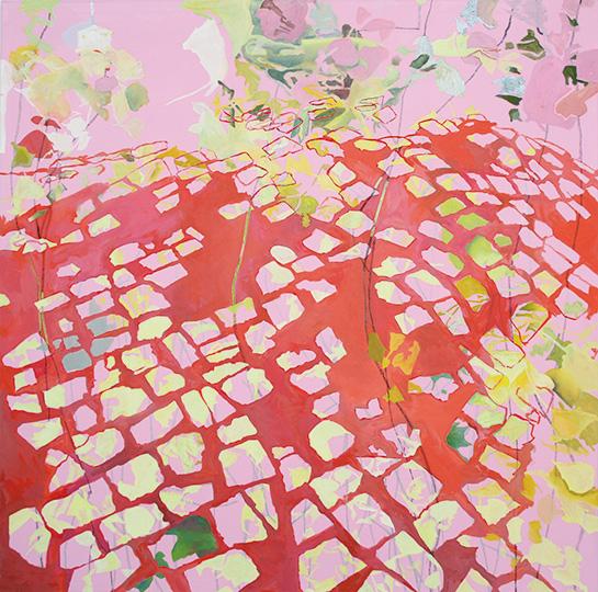 September 2010, Öl auf Leinwand, 220 x 222 cm, 2010