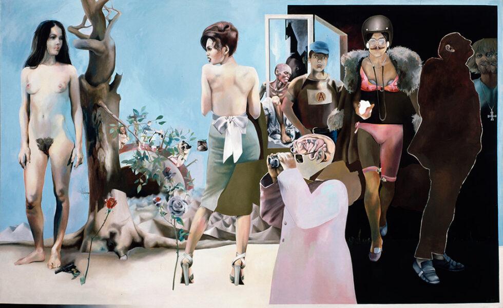Weg zu einer Utopie, Öl auf Leinwand, 220 × 300 cm, 1975, Privatbesitz